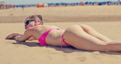 Fisico di ragazza senza cellulite