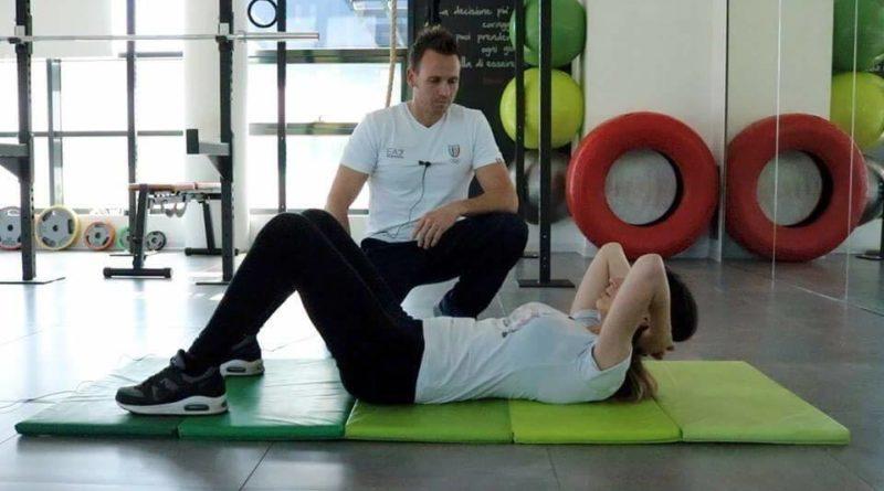 Personal Trainer al lavoro