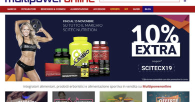 siti ecommerce integratori