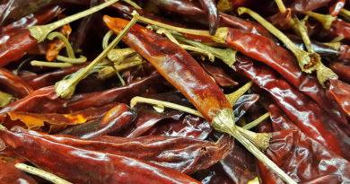 Cucina messicana: paprika